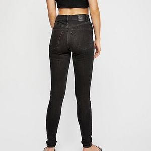 NEW! Levi's Mile High rise super skinny faded ink